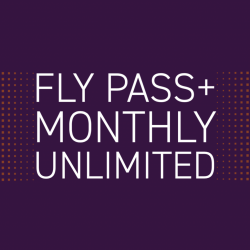 FlyPass PLUS Monthly Unlimited