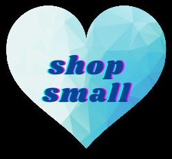 Shop Small Sticker