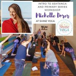 Michelle Dorer Ashtanga Intro and Primary Series (9-22 and 9-29)