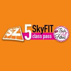 Sky Zone 5 Class Pass