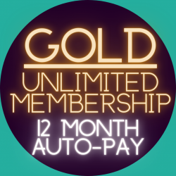 12-Month Gold Membership (Monthly Auto-Pay)