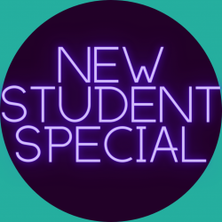 NEW STUDENT SPECIAL: $49 FOR 30 DAYS