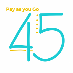 Pay as you go! (45 min classes)
