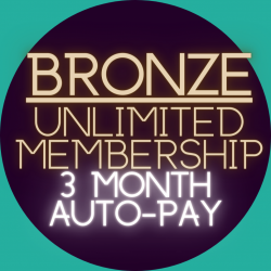 3-Month Auto-Pay Membership (Bronze Member)