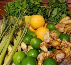 Fresh Summer Herbal Compress