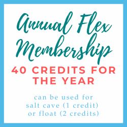 Annual Flex Membership - 40 credits