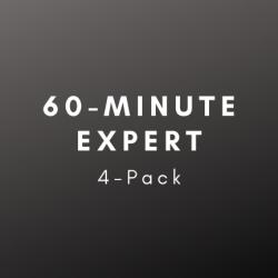Expert: 60 Minute Universal 4-Pack