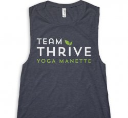 Team Thrive Tank - Available in Navy or Heather Gray