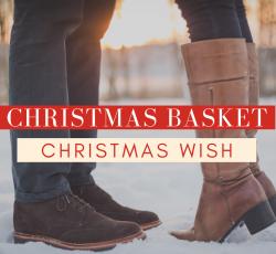 CHRISTMAS WISH Christmas Basket