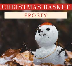 FROSTY Christmas Basket