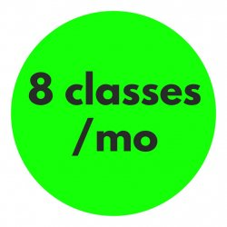 8 Classes/mo Recurring