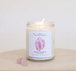 JaxKelly Candle (Rose Quartz) - Love