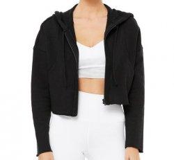 Cruiser crop jacket (black) - M