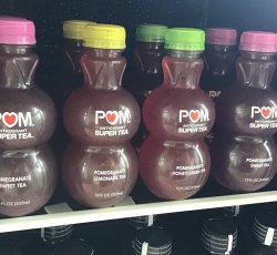 Beverage Cooler: POM Super Tea