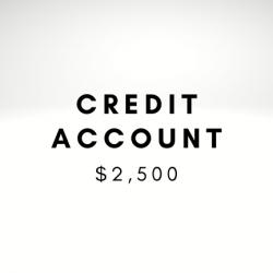 Credit Account $2,500