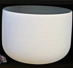 """Crystal Bowl - 16"""" Classic Frosted"""