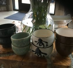 Radiant Moon -Smudge Bowls
