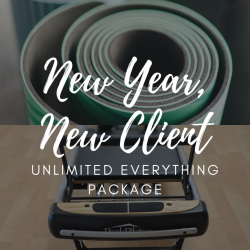 January New Client Unlimited Everything Package