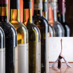 Yoga + Wine at Priam