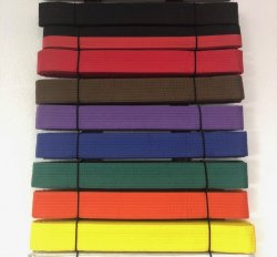 Taekwondo Belts (Replacement or Extra)