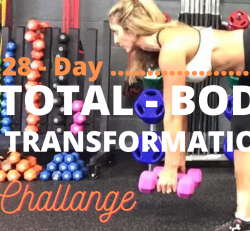 28 - Day Total Body Transformation Challenge!