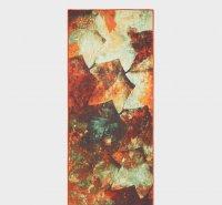 YogiToes Mat Towel (Patina Wall Print)