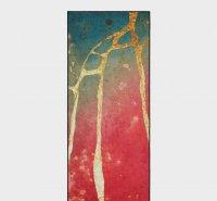 YogiToes Mat Towel (River Gold Print)