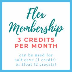 Flex Membership 3 Credits
