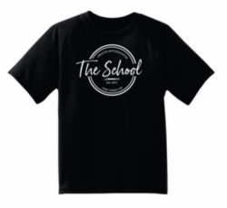 Black T-Shirt with Large Logo