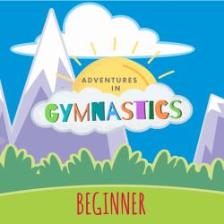 BEGINNER - 4 pack of Adventures in Gymnastics Classes