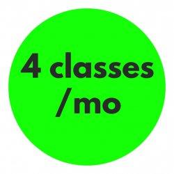 4 Classes/mo Recurring