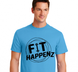 FIT Tee (Blue)