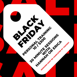 black friday 10 sessions
