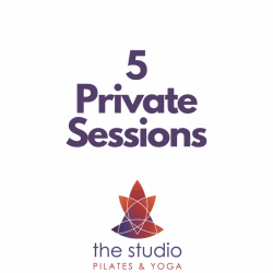 Private Sessions: 5 Pack