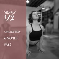 YEARLY 1/2 - 6 Month Unlimited Pass - 2019
