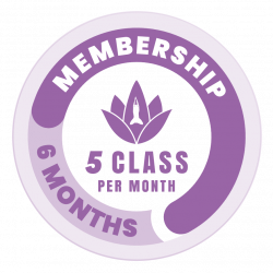 5 x per month Membership (6 months)