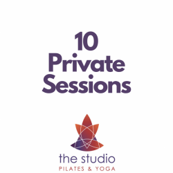 Private Sessions: 10 Pack