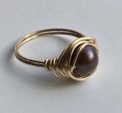 Sea Safari Pearl Ring (9)