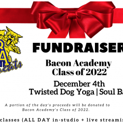 BA FUNDRAISER Class of '22 - Student Pass Only