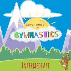 INTERMEDIATE - 4 pack of Adventures in Gymnastics Classes