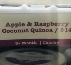 CHUNKY- Apple & Raspberry Coconut Quinoa