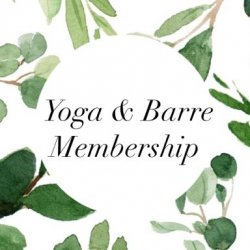 Yoga & Barre Membership- $79.99/month for 6 months