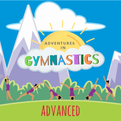 ADVANCED - 4 pack of Adventures in Gymnastics Classes