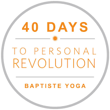 $135-40 Days to Personal Revolution( Includes Unlimited Yoga)