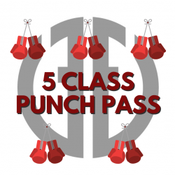 Punch Card (5 classes)