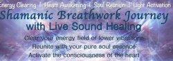 Shamanic Breathwork with Live Sound Healing
