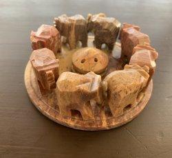 Incense Burner - Elephant Soapstone