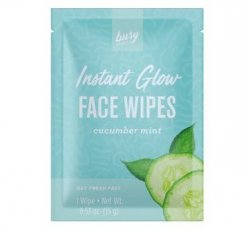 Busy Beauty - Cucumber/Mint Face Wipes