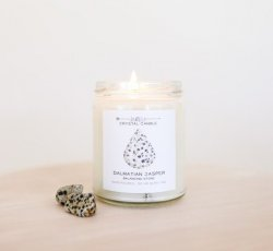 Sacred Intentions :: Crystal Candle