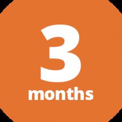 3 Month Full Membership